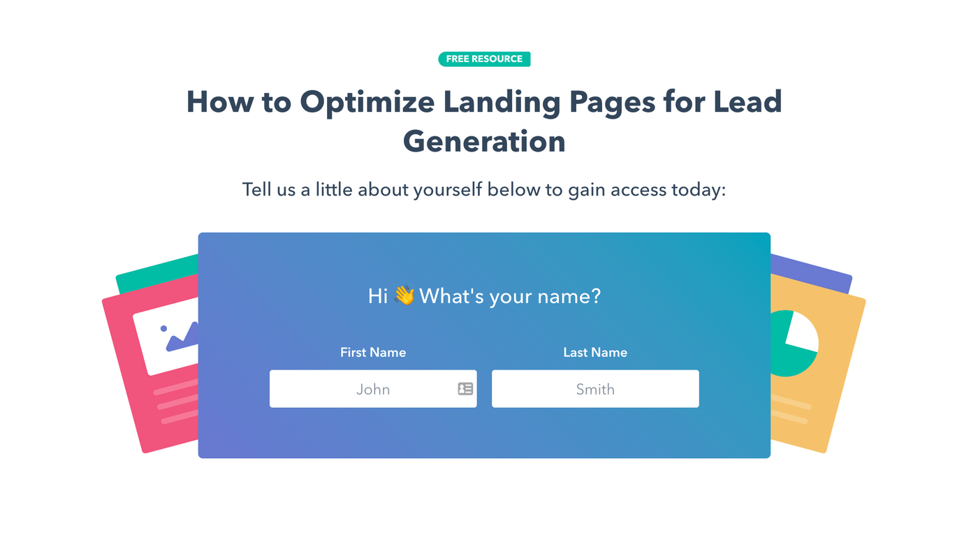 reference landing page